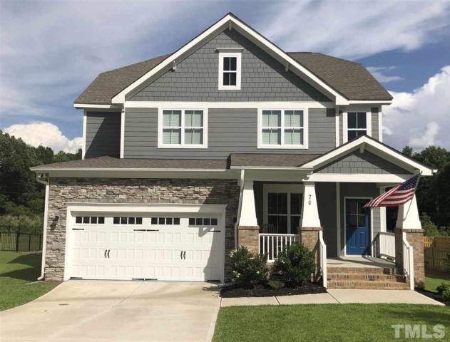 70 Heathgreen Drive, Clayton, NC 27527 (#2194122) :: Saye Triangle Realty