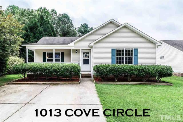 1013 Cove Circle, Clayton, NC 27520 (#2195288) :: The Abshure Realty Group