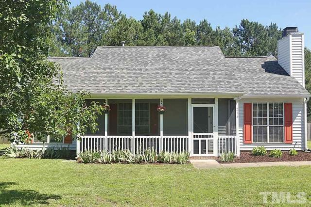 216 Bateau Road, Holly Springs, NC 27540 (#2195393) :: The Jim Allen Group