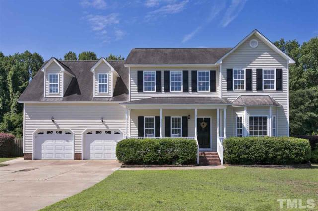 1528 Olde Mckenzie Drive, Holly Springs, NC 27540 (#2195666) :: The Jim Allen Group