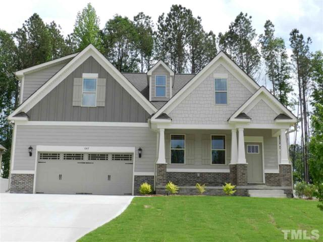 647 Airedale Trail, Garner, NC 27529 (#2196104) :: The Perry Group