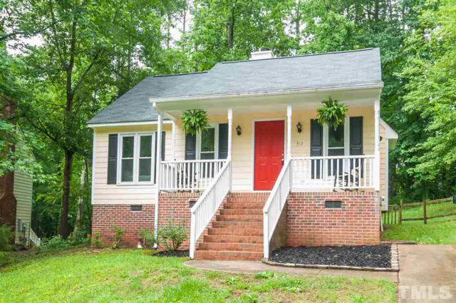 313 Amherst Creek Drive, Wake Forest, NC 27587 (#2196576) :: The Perry Group