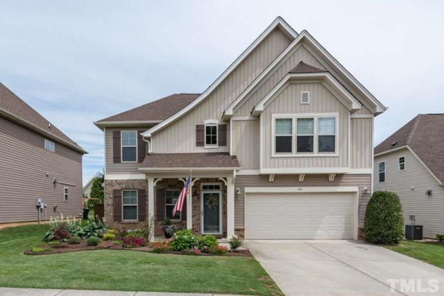 24 Listeria Crest Drive #82, Youngsville, NC 27596 (#2197071) :: The Perry Group