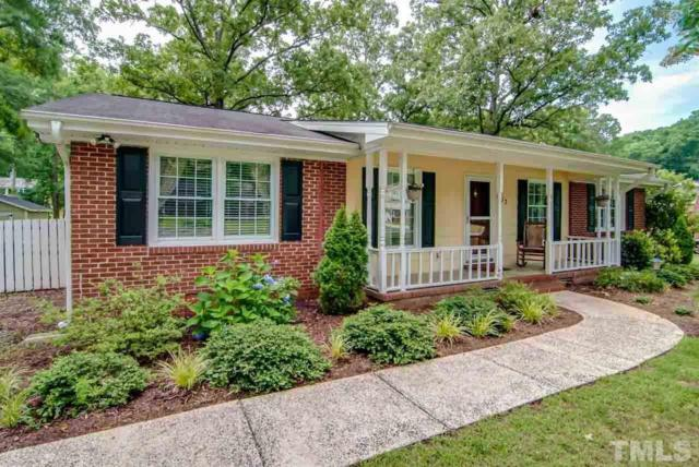 607 Wildwood Drive, Durham, NC 27712 (#2197694) :: The Perry Group