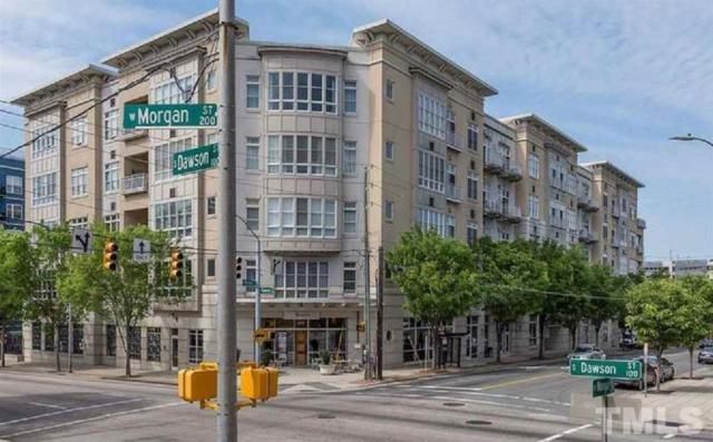 317 W Morgan Street #206, Raleigh, NC 27601 (#2197731) :: The Perry Group