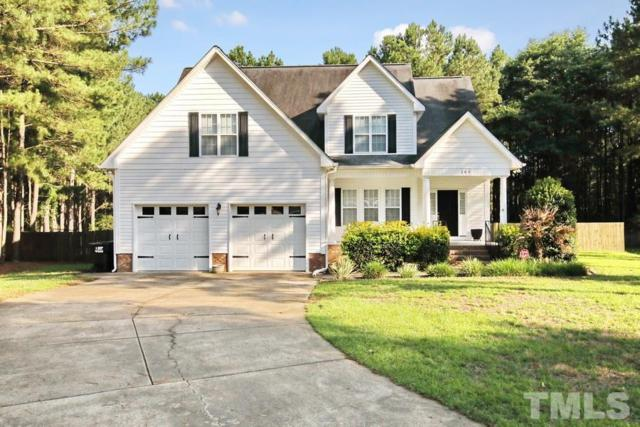 283 W Thicket Drive, Angier, NC 27501 (#2198137) :: The Jim Allen Group