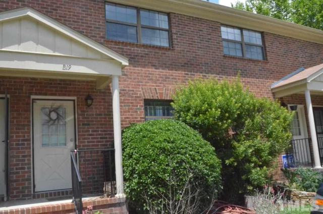 105 Fidelity Street B-19, Carrboro, NC 27510 (#2198406) :: The Jim Allen Group