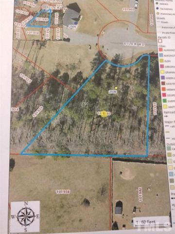 Lot 27-2509 Siler Road, Snow Camp, NC 27349 (#2199467) :: The Perry Group