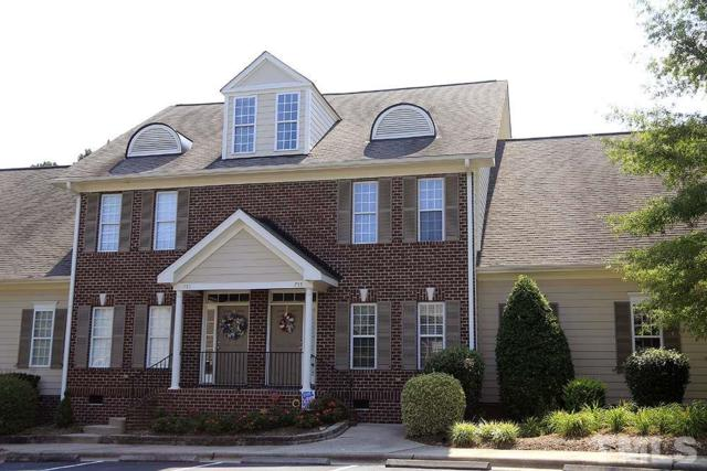 755 Parkside Townes Court, Wake Forest, NC 27587 (#2199656) :: The Jim Allen Group