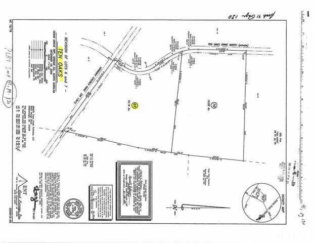 Lot 6 Ten Oaks Drive, Efland, NC 27243 (#2200691) :: The Perry Group