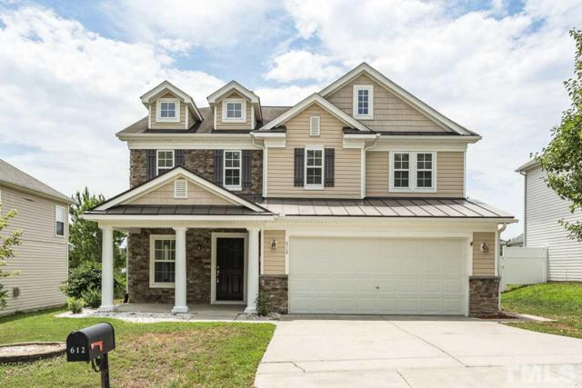 612 Pebblestone Drive, Durham, NC 27703 (#2200756) :: The Perry Group