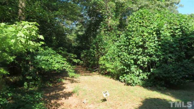 Lot 41 Wickersham Way, Louisburg, NC 27549 (#2200770) :: M&J Realty Group