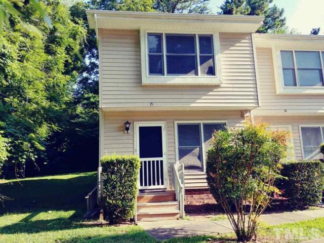 875 Mlk Jr Boulevard #15, Chapel Hill, NC 27516 (#2201379) :: The Perry Group