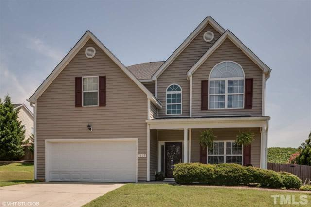 417 Spruce Hollow Drive, Fuquay Varina, NC 27526 (#2202902) :: The Jim Allen Group
