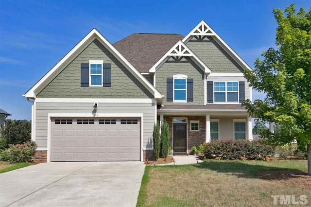 161 Country Mill Way, Fuquay Varina, NC 27526 (#2203390) :: The Jim Allen Group