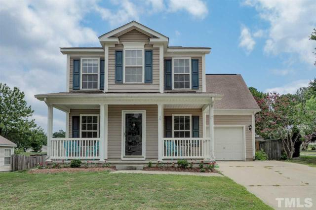 801 Homestead Park Drive, Apex, NC 27502 (#2203453) :: The Perry Group