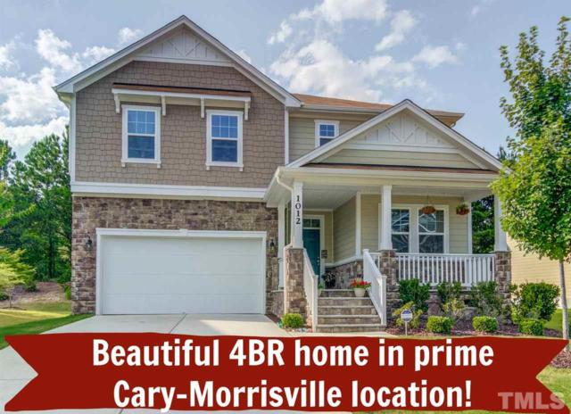 1012 Bender Ridge Drive, Morrisville, NC 27560 (#2203567) :: The Perry Group