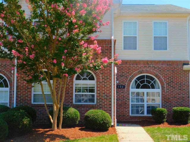 2110 Piney Brook Road #106, Raleigh, NC 27614 (#2203608) :: Marti Hampton Team - Re/Max One Realty