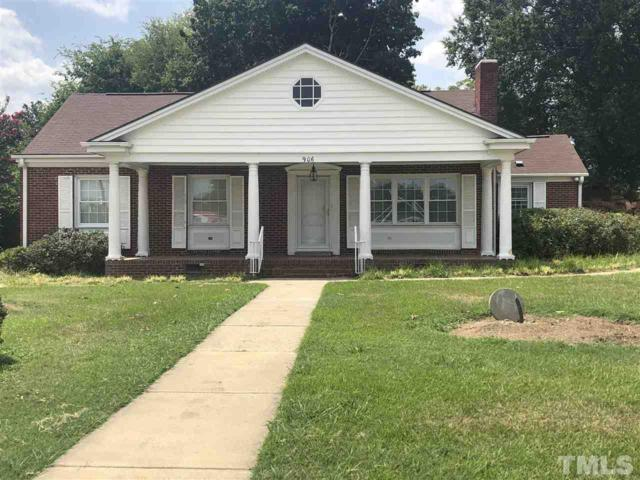 906 S 8th Street, Lillington, NC 27546 (#2203742) :: The Abshure Realty Group