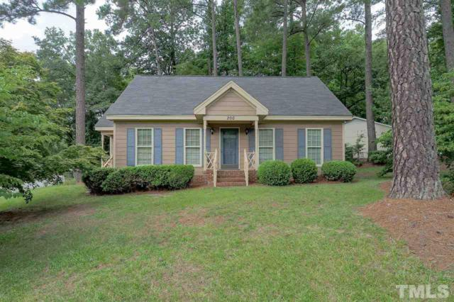 200 Coachman Drive, Garner, NC 27529 (#2204245) :: Better Homes & Gardens | Go Realty