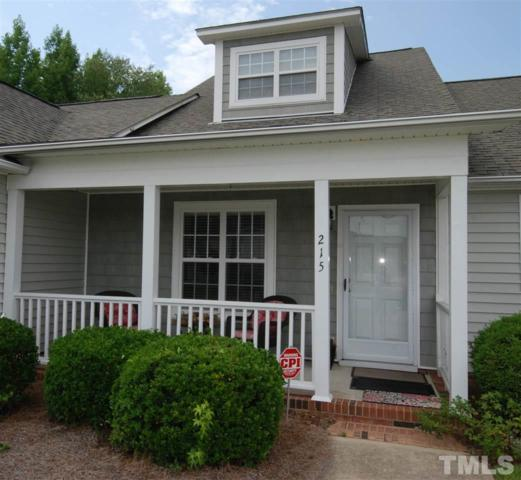 215 W Moss Creek Drive, Clayton, NC 27520 (#2204756) :: The Abshure Realty Group