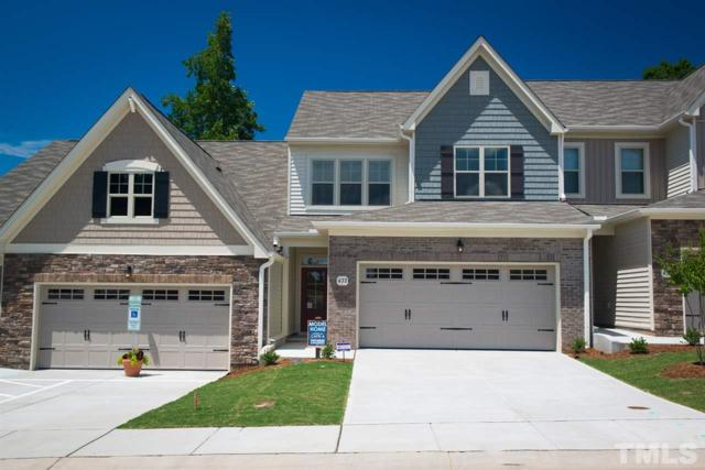 502 Brunello Drive #95, Wake Forest, NC 27587 (#2206108) :: Rachel Kendall Team