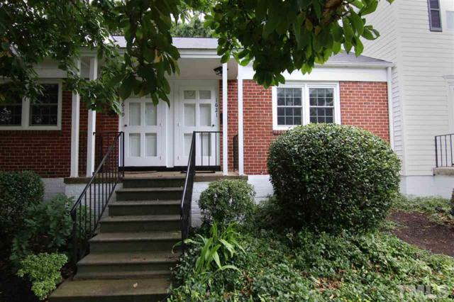 1621 Sutton Drive #7, Raleigh, NC 27605 (#2206305) :: Raleigh Cary Realty