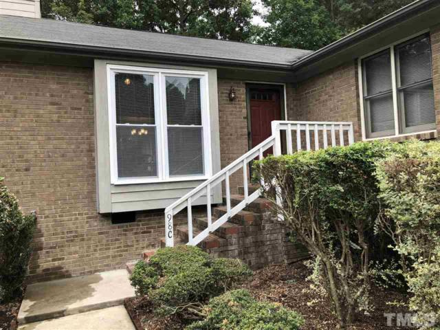 5500 Fortunes Ridge Drive 98C, Durham, NC 27713 (#2206941) :: Raleigh Cary Realty