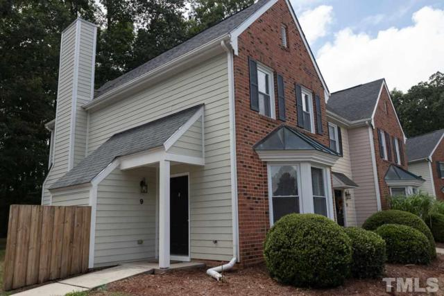 9 Forest Glen Drive #9, Chapel Hill, NC 27517 (#2207008) :: Raleigh Cary Realty