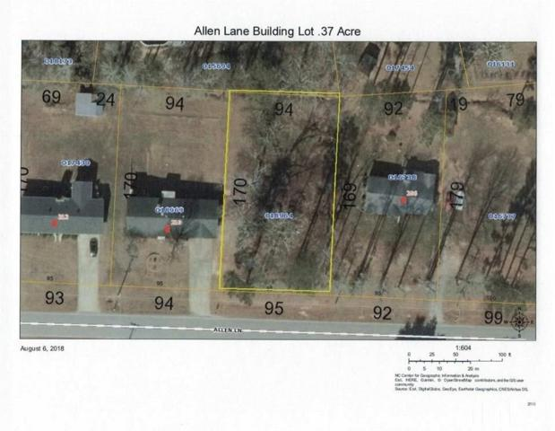 0 Allen Lane, Louisburg, NC 27549 (#2207973) :: The Jim Allen Group