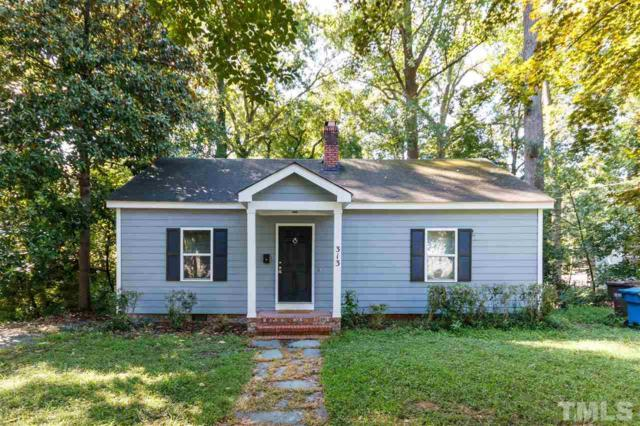 313 Greenwood Drive, Durham, NC 27704 (#2208030) :: Marti Hampton Team - Re/Max One Realty