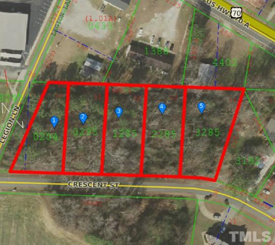 Lots 10-14 Crescent Street, Pine Level, NC 27568 (#2208253) :: The Jim Allen Group