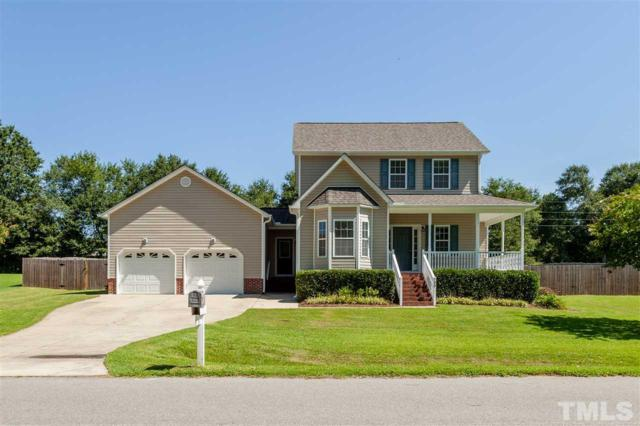 135 Moonlight Drive, Fuquay Varina, NC 27526 (#2208850) :: The Abshure Realty Group