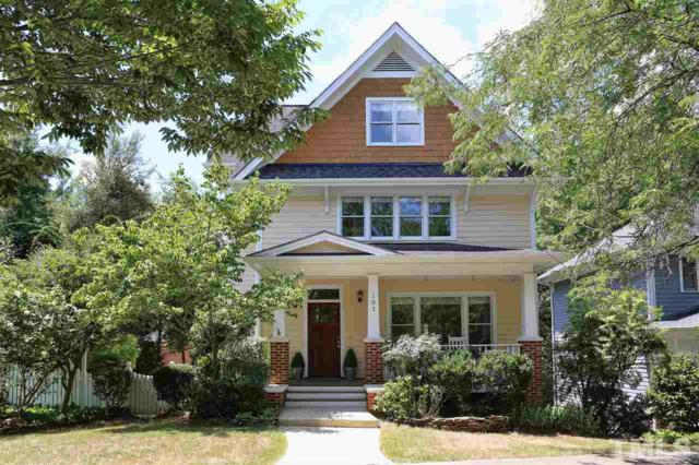 101 Winston Ridge Drive, Chapel Hill, NC 27516 (#2209050) :: The Abshure Realty Group