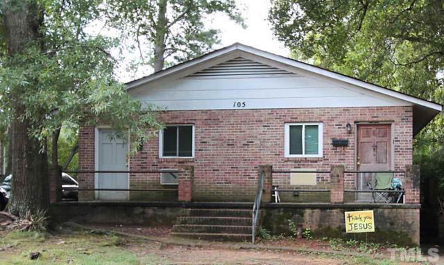 105 Johnson Street, Chapel Hill, NC 27516 (#2209345) :: The Jim Allen Group