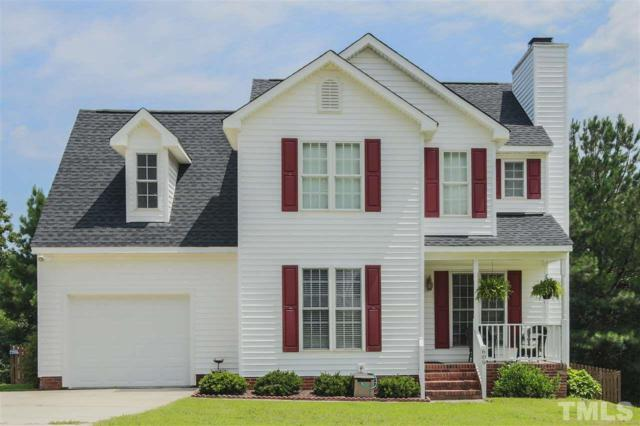 609 Hyannis Drive, Holly Springs, NC 27540 (#2209589) :: Saye Triangle Realty