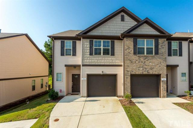 106 Bella Place, Holly Springs, NC 27540 (#2209892) :: Rachel Kendall Team