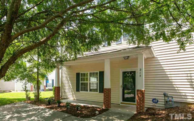 215 Basset Hall Drive, Durham, NC 27713 (#2210344) :: RE/MAX Real Estate Service