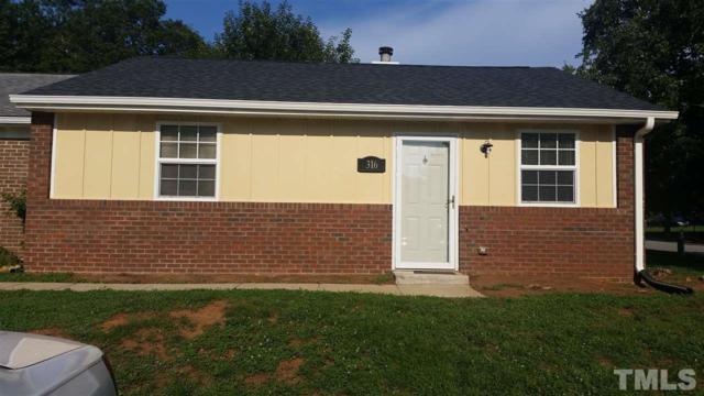 316 Kentucky Drive, Garner, NC 27529 (#2210420) :: Kim Mann Team
