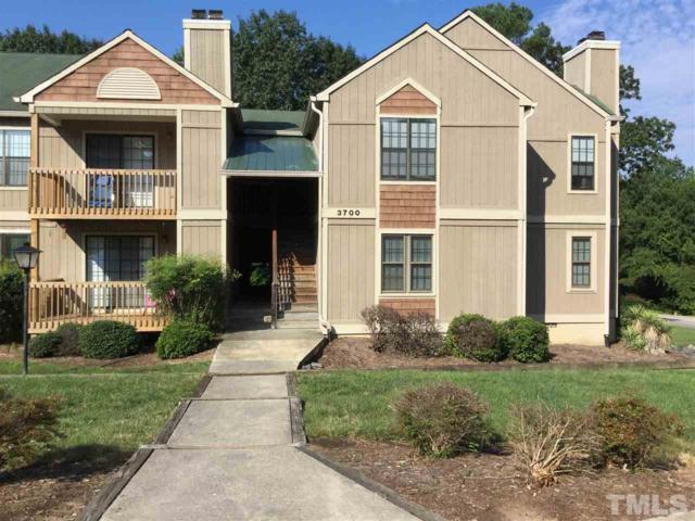 3700 Chimney Ridge Place #104, Durham, NC 27713 (#2211700) :: The Abshure Realty Group