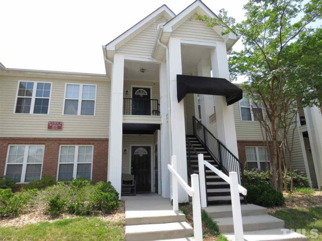 2410 Huntscroft Lane #202, Raleigh, NC 27617 (#2212298) :: Rachel Kendall Team