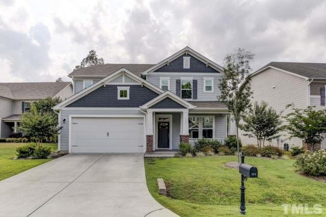 321 Striped Maple Court, Apex, NC 27539 (#2212380) :: The Abshure Realty Group