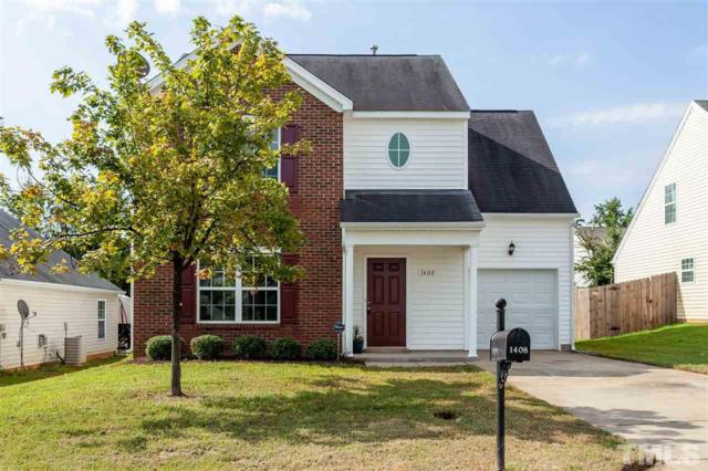 1408 Ricochet Drive, Raleigh, NC 27610 (#2213005) :: The Perry Group