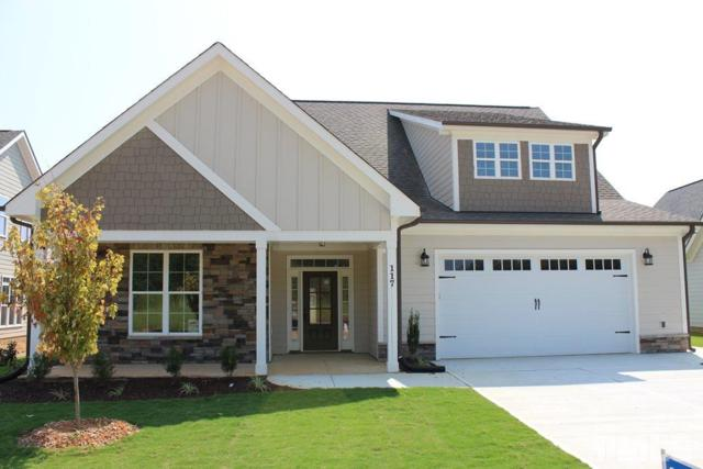 117 Plantation Drive, Youngsville, NC 27596 (#2213193) :: Rachel Kendall Team