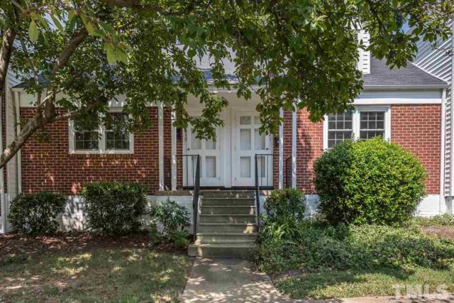 1619 Sutton Drive #6, Raleigh, NC 27605 (#2213317) :: Marti Hampton Team - Re/Max One Realty