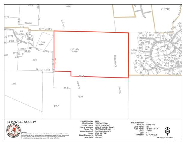 Bowman Road, Creedmoor, NC 27522 (#2213388) :: The Results Team, LLC