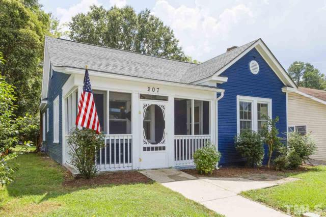 207 Bracken Street, Sanford, NC 27330 (#2213756) :: The Abshure Realty Group
