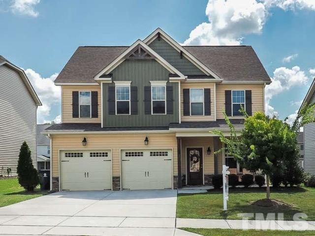 4207 Vineyard Ridge Drive, Zebulon, NC 27597 (#2213859) :: The Abshure Realty Group