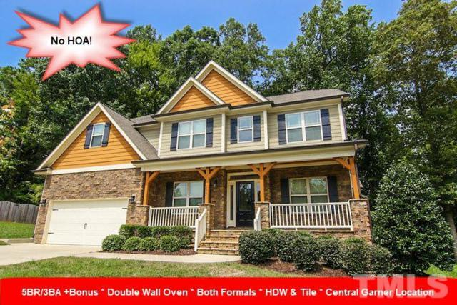 203 Mcknitt Place, Garner, NC 27529 (#2214358) :: The Jim Allen Group