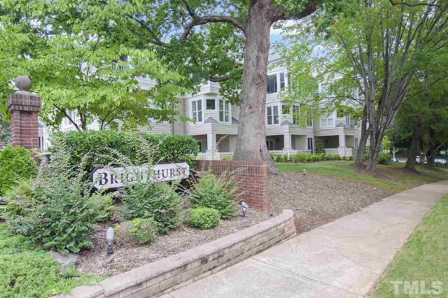 1000 Brighthurst Drive #104, Raleigh, NC 27605 (#2215104) :: The Results Team, LLC